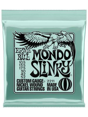 Ernie Ball Mondo Slinky Nickel Wound Electric Guitar Strings 10.5-52 Gauge