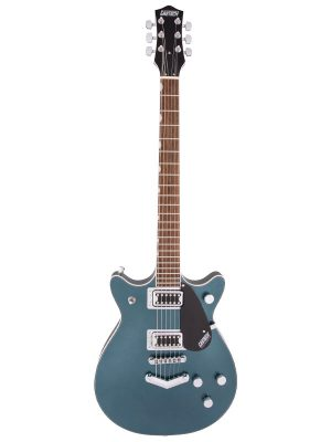 Gretsch G5222 Electromatic Double Jet BT With V-Stoptail Jade Grey Metallic