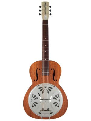 Gretsch G9200 Boxcar Round-Neck Resonator Guitar Natural