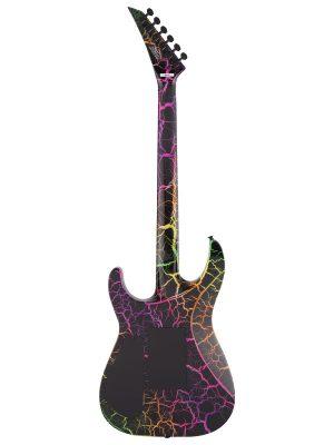 Jackson Pro Series Soloist SL3M Rainbow Crackle