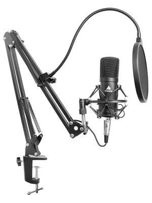Maono AU-A03 XLR Condenser Cardioid Microphone Kit