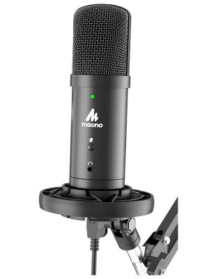 Maono AU-PM401 USB Condenser Cardioid Microphone Kit