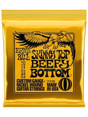 Ernie Ball Skinny Top Beefy Bottom Slinky Nickel Wound Electric Guitar Strings 10-54 Gauge