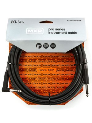 MXR Pro Series Instrument Cable Right/Straight 20ft