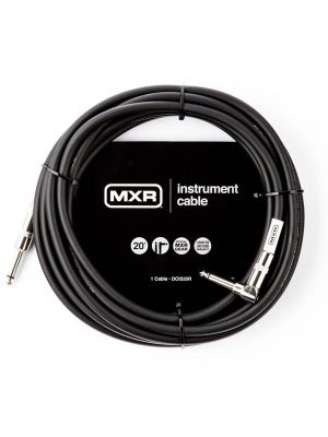 MXR Standard Instrument Cable Right/Straight 20ft