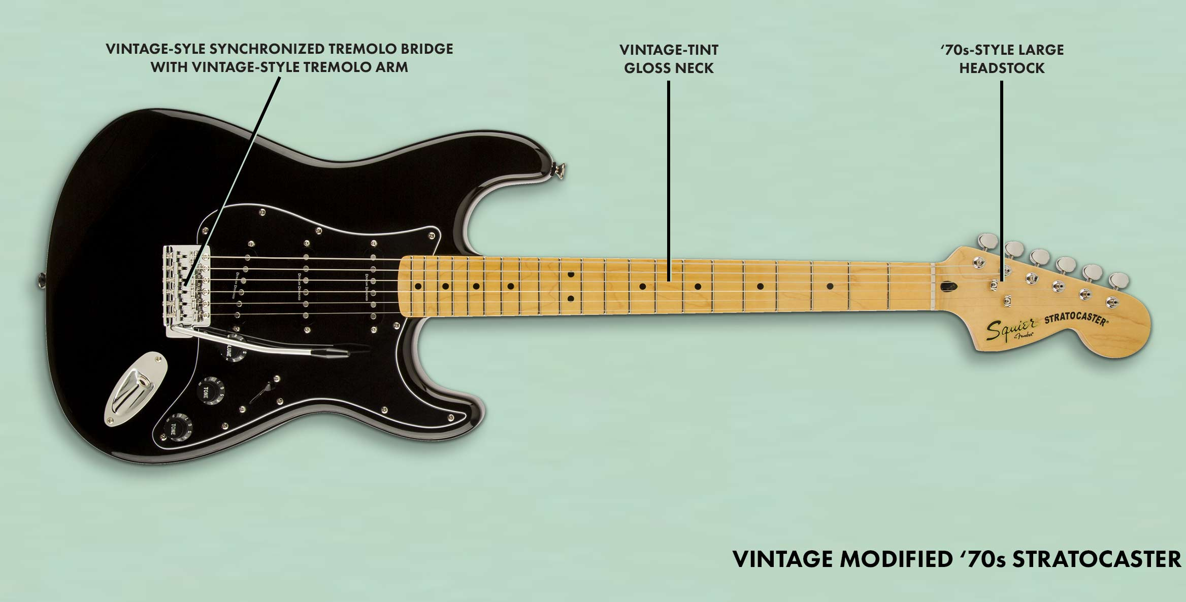 Vintage Modified '70s Stratocaster