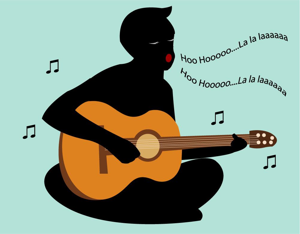 نواختن گیتار